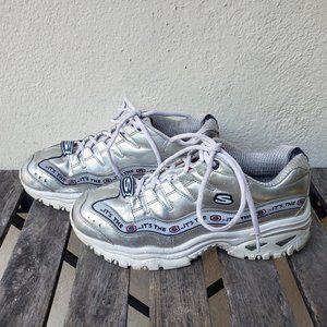 Women's Skechers Energy Steel Wave Sneaker